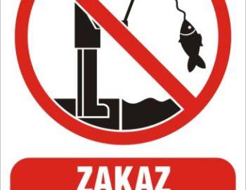 Zakaz wędkowania na obwodzie rzeki Ner 1