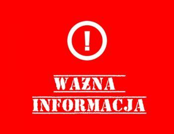 Komunikat wydany przez Państwowe Gospodarstwo Wodne Wody Polskie dotyczący min. obwodu rzeki Ner1